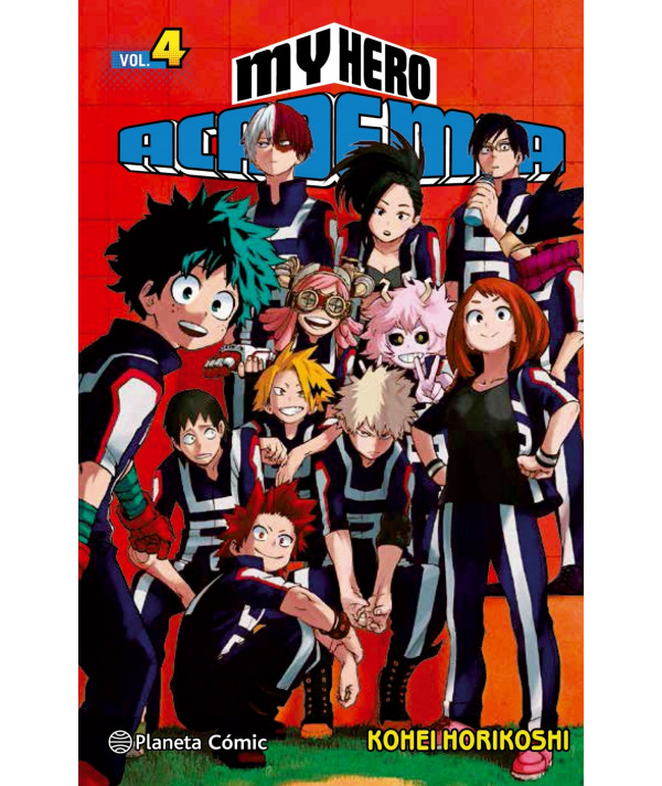 MY HERO ACADEMIA 4 Comic y Manga