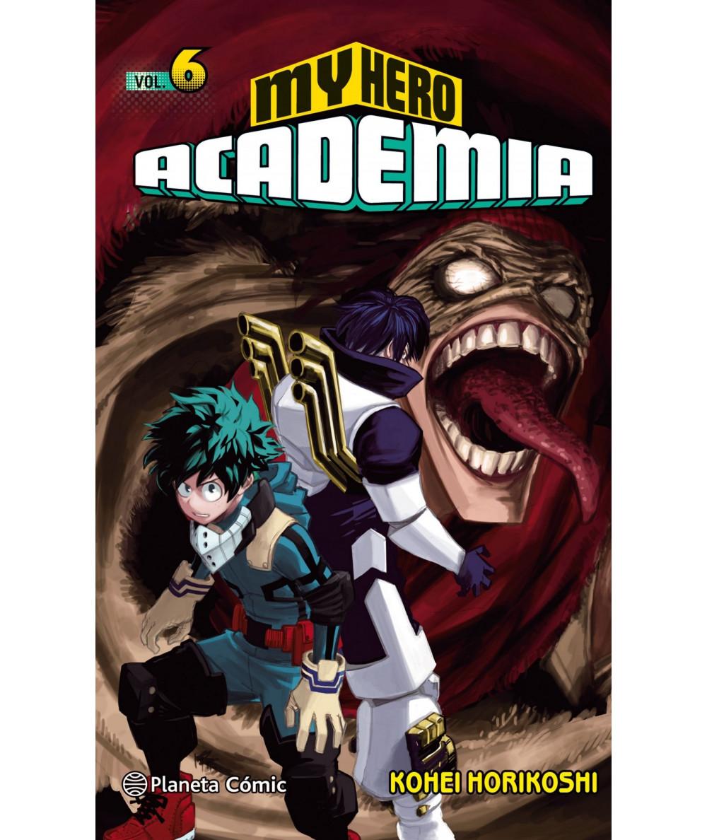 MY HERO ACADEMIA 6 Comic y Manga