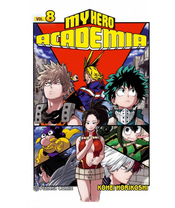 MY HERO ACADEMIA 8 Comic y Manga