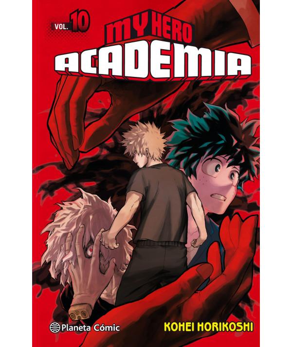 MY HERO ACADEMIA 10 Comic y Manga