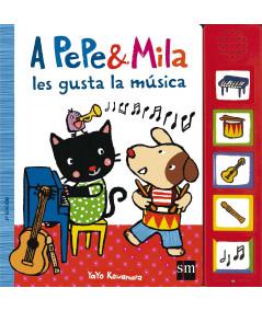 A PEPE Y MILA LES GUSTA LA MUSICA Infantil