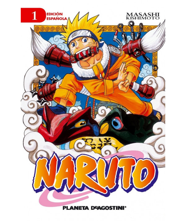 NARUTO 1 Comic y Manga