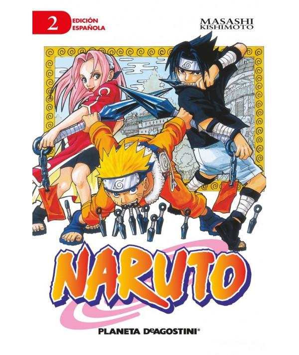 NARUTO 2 Comic y Manga
