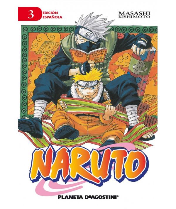 NARUTO 3 Comic y Manga