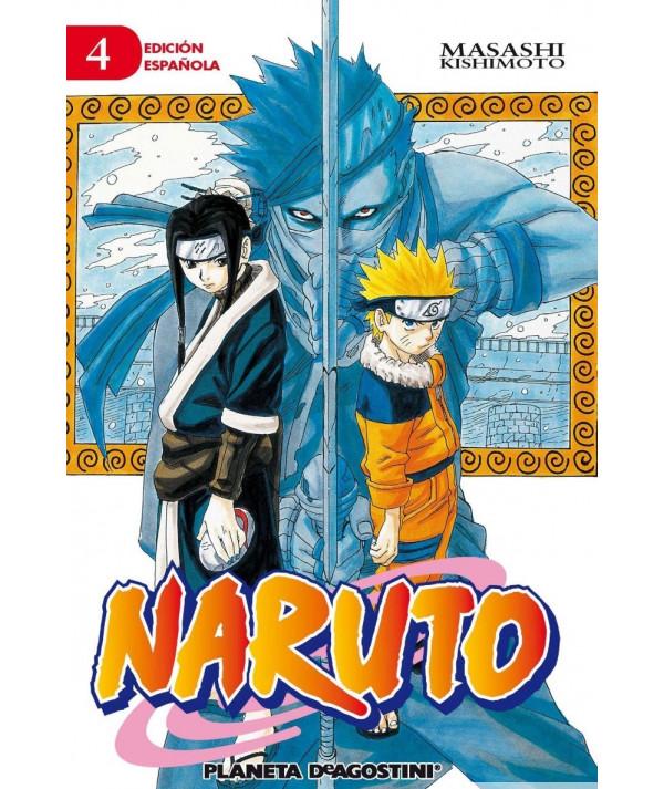 NARUTO 4 Comic y Manga