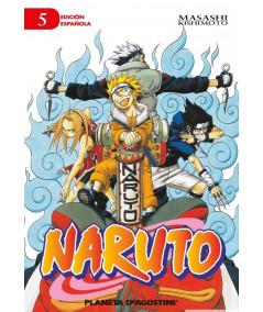 NARUTO 5 Comic y Manga