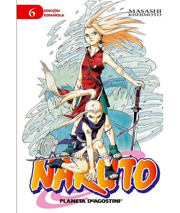 NARUTO 6 Comic y Manga