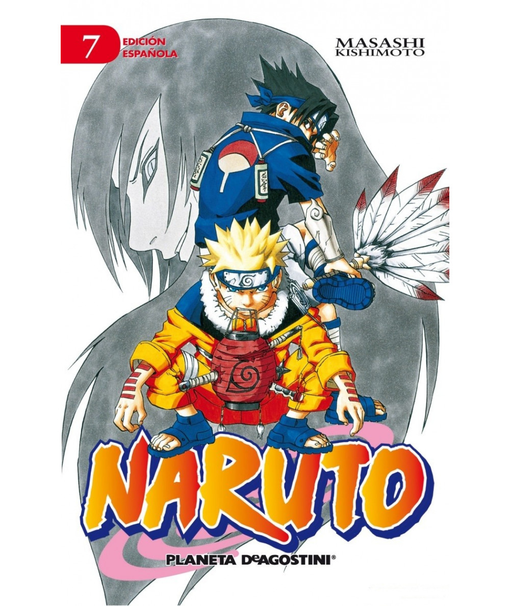 NARUTO 7 Comic y Manga