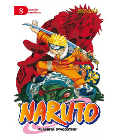 NARUTO 8 Comic y Manga