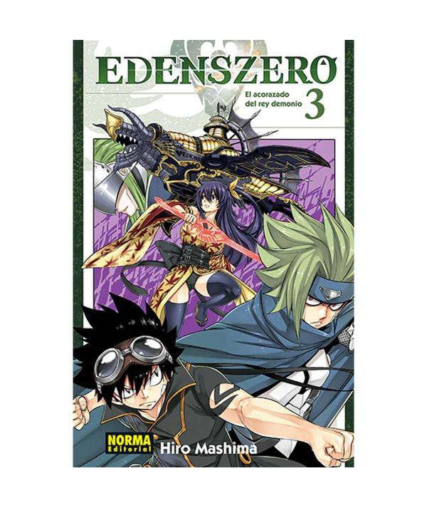 EDENS ZERO 3 Comic y Manga
