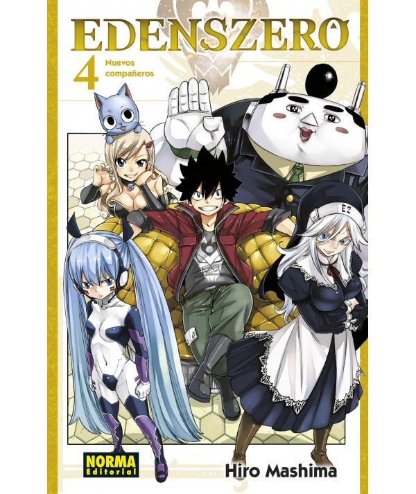 EDENS ZERO 4 Comic y Manga