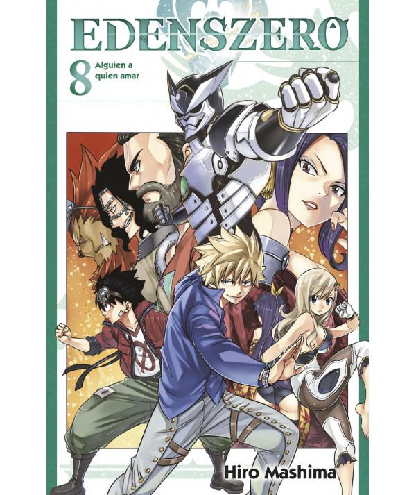 EDENS ZERO 8 Comic y Manga