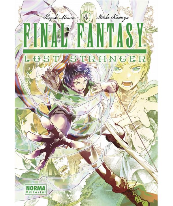FINAL FANTASY LOST STRANGER 4 Comic y Manga