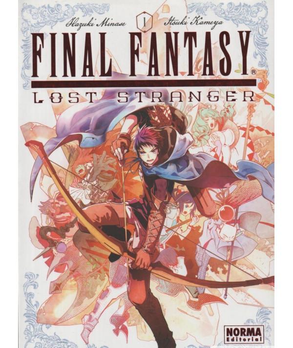 FINAL FANTASY LOST STRANGER 1 Comic y Manga