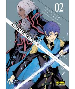 FINAL FANTASY TYPE-0. EL VERDUGO DE HIELO 2 Comic y Manga