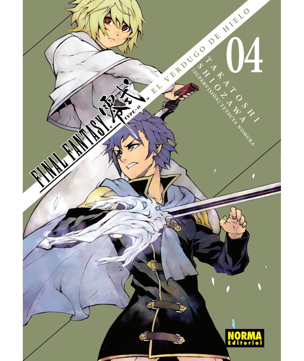 FINAL FANTASY TYPE-0. EL VERDUGO DE HIELO 4 Comic y Manga