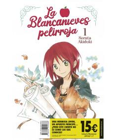 PACK DE INICIACIÓN LA BLANCANIEVES PELIRROJA Comic y Manga