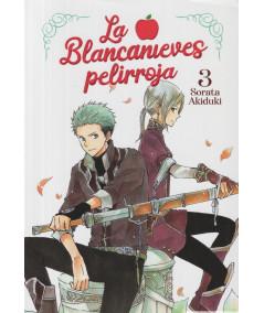 LA BLANCANIEVES PELIRROJA 3 Comic y Manga