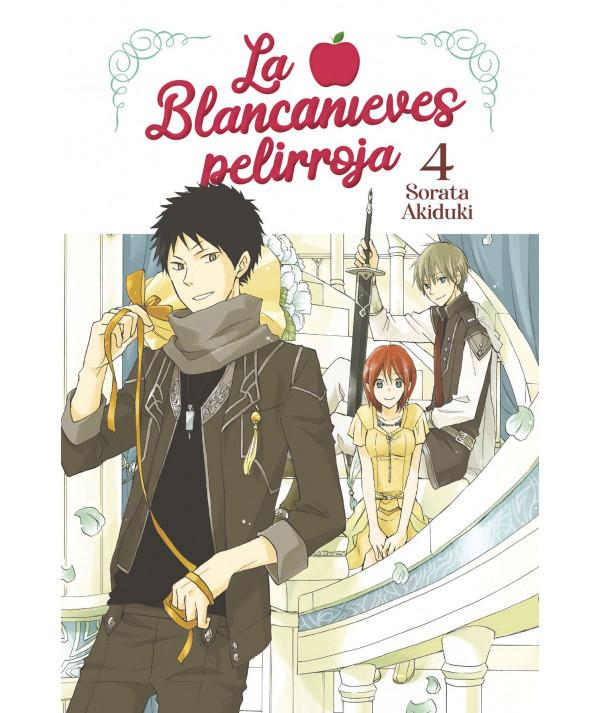 LA BLANCANIEVES PELIRROJA 4 Comic y Manga