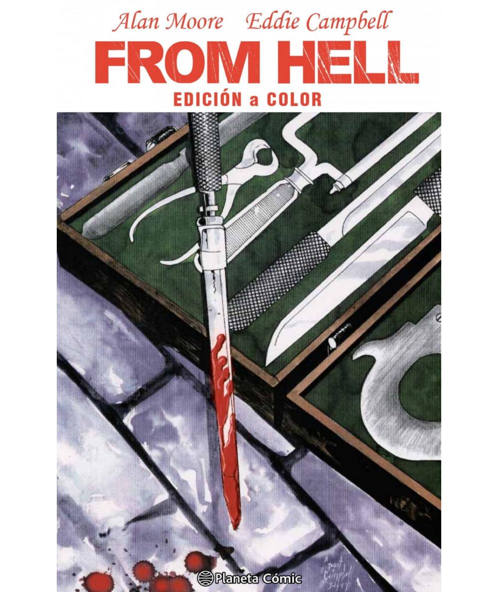 FROM HELL. Edición a color (novela gráfica) Comic y Manga