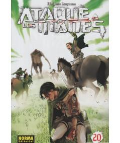ATAQUE A LOS TITANES 20 Comic y Manga