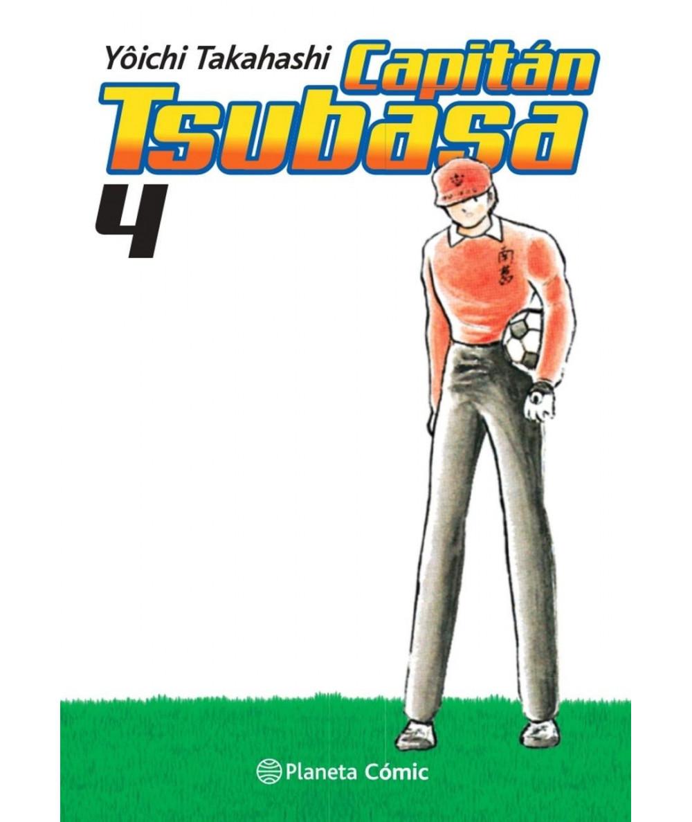 CAPITAN TSUBASA 4 Comic y Manga