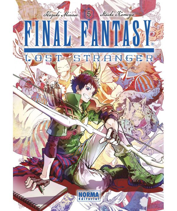 FINAL FANTASY LOST STRANGER 5 Comic y Manga