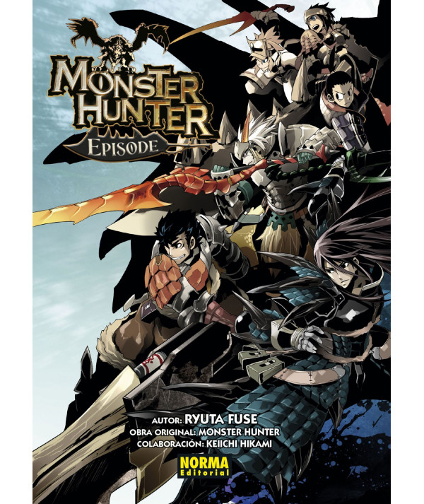 MONSTER HUNTER EPISODE 1 A 3 (PACK) Comic y Manga