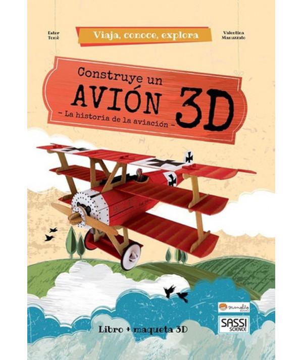 CONSTRUYE EL AVION 3D MANOLITO BOOK