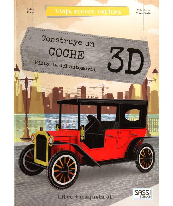 CONSTRUYE UN COCHE 3D MANOLITO BOOK