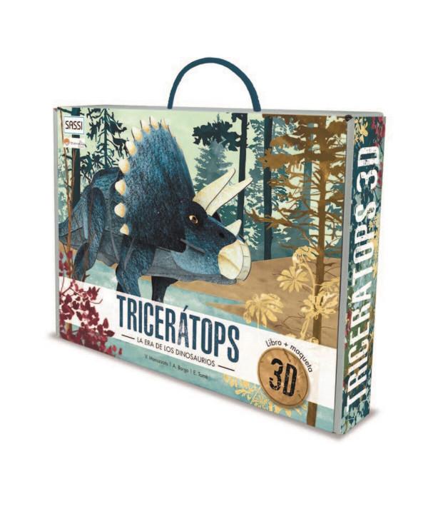 TRICERATOPS 3D MANOLITO BOOK