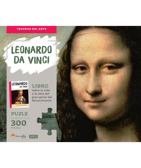 Leonardo Da Vinci- La Monna Lisa MANOLITO BOOK