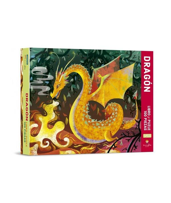 PUZLE DRAGON MANOLITO BOOK