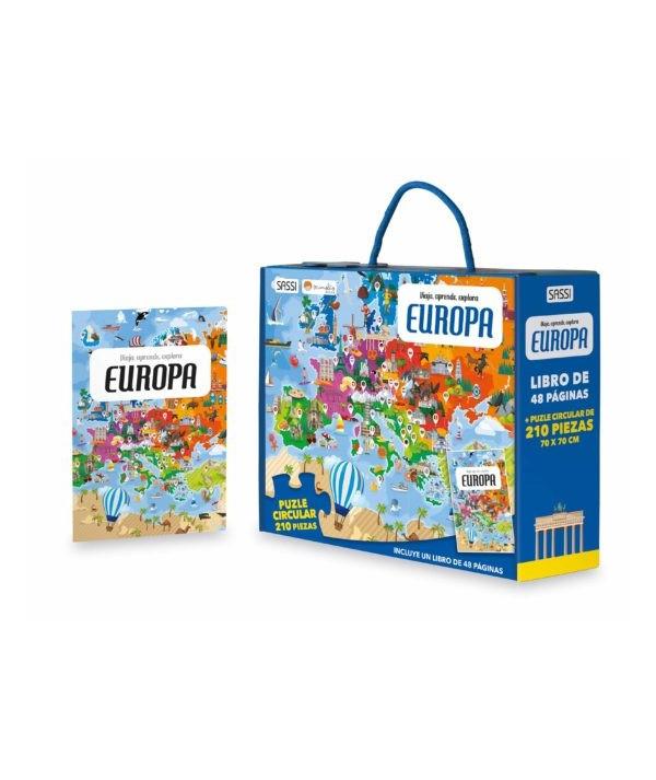 PUZLE CIRCULAR DE EUROPA MANOLITO BOOK