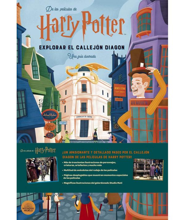 Harry Potter: Explorar el Callejón Diagon. Una Guía Ilustrada Juvenil