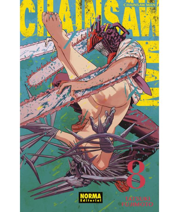 CHAINSAW MAN 8 Comic y Manga