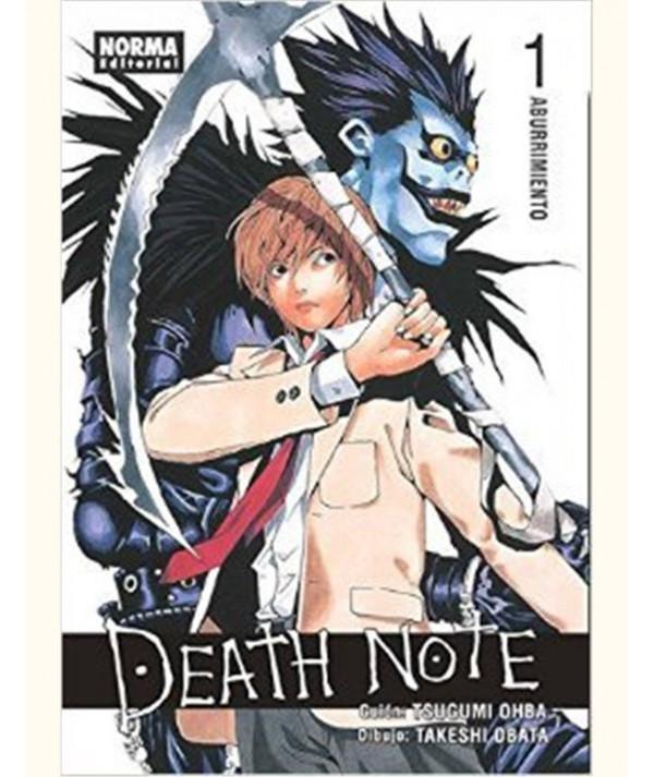 DEATH NOTE 1 Comic y Manga