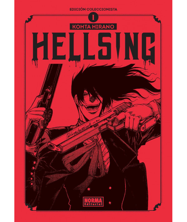 Hellsing 1 (Edición Coleccionista) Comic y Manga