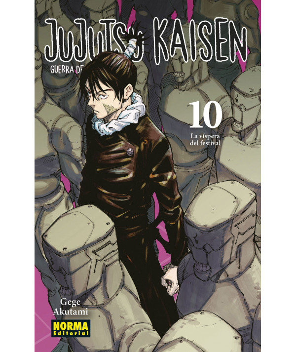 JUJUTSU KAISEN 10 Comic y Manga