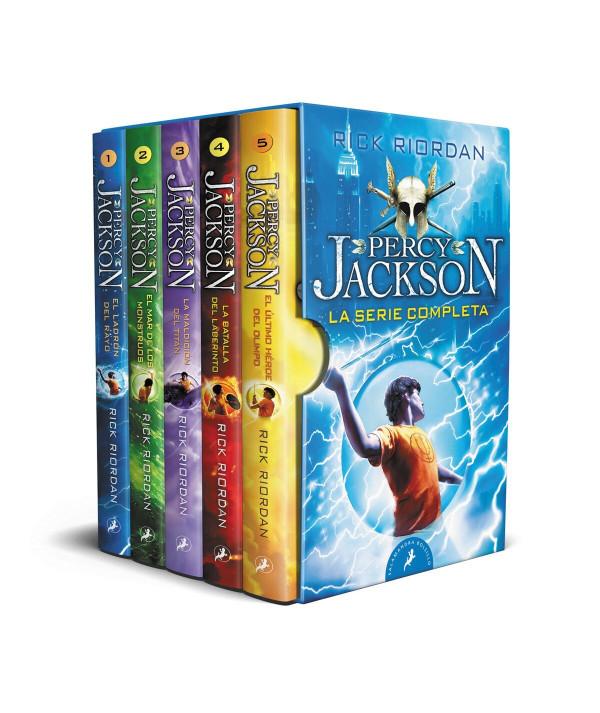 Percy Jackson y los dioses del Olimpo - La serie completa Juvenil